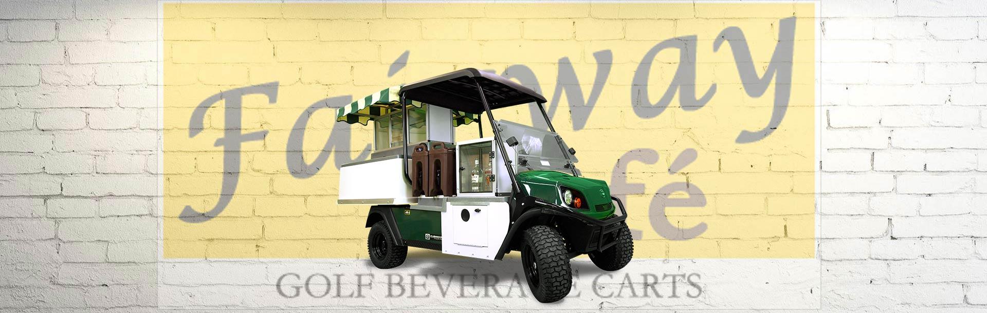 Fairway Cafe Golf Beverage Cart - Minibar