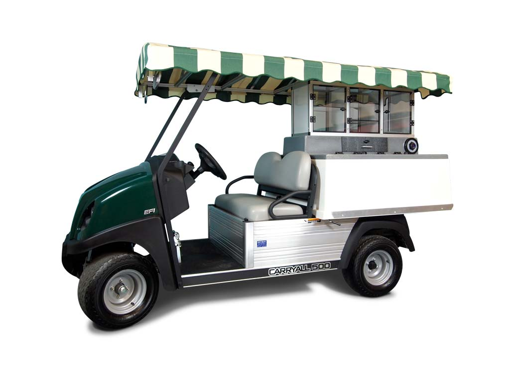 Fairway Cafe - Golf Beverage Carts - Club Car