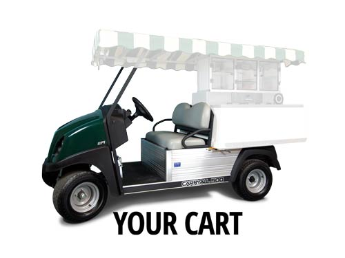 how to find value of a golf cart