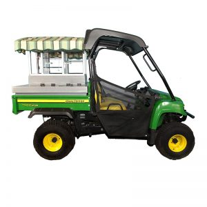 Fairway Café JD HPX Standard - John Deere Beverage Cart Conversion