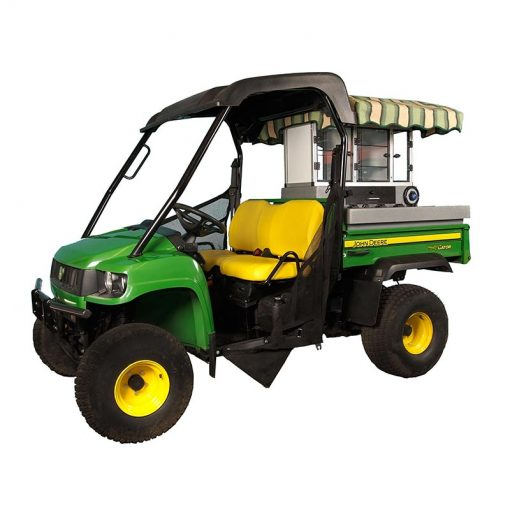 Fairway Café JD HPX Standard – John Deere Beverage Cart Conversion