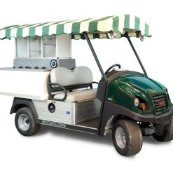 Fairway Cafe CC Long Roof - Club Car Golf Beverage Cart conversion