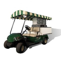 Fairway Café Yamaha Long Roof - Yamaha Beverage Cart Conversion