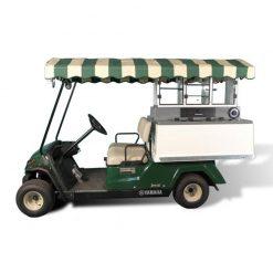 Fairway Café Yamaha Long Roof - Yamaha Beverage Cart Conversion
