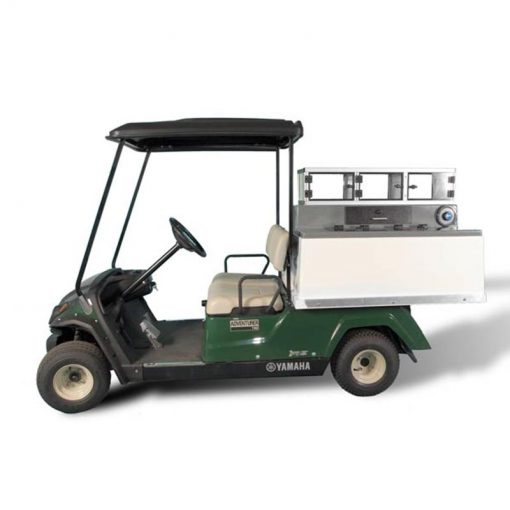 Fairway Café Yamaha Low Boy – Yamaha Beverage Cart Conversion