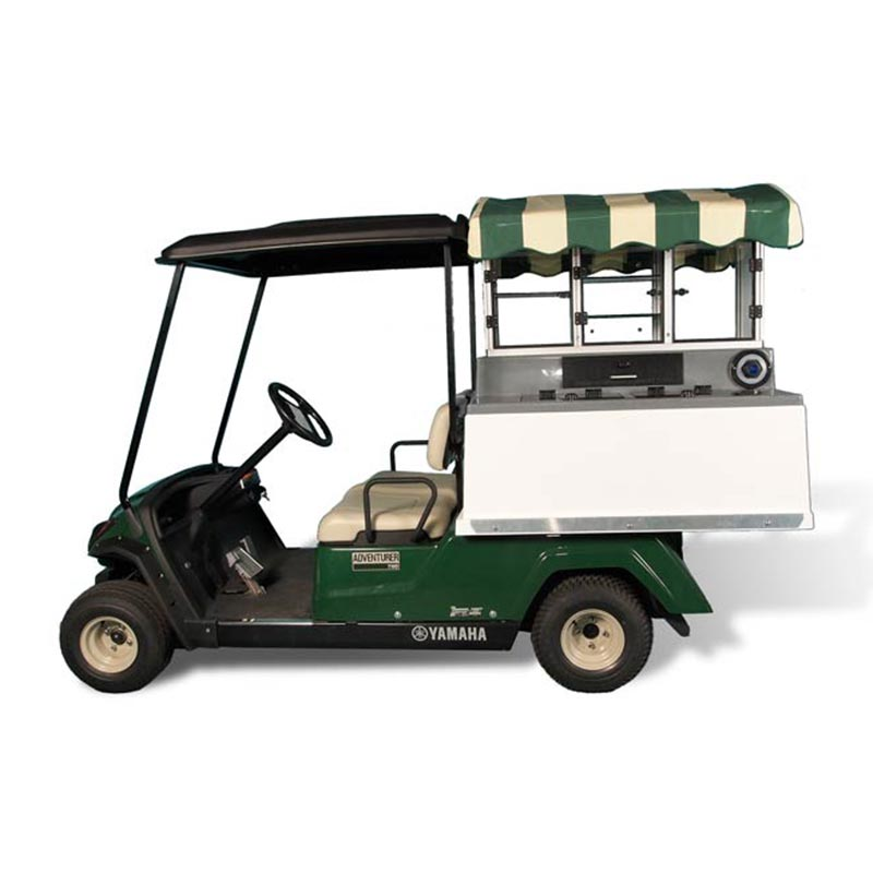 Fairway Café Yamaha Short Roof U2013 Yamaha Beverage Cart Conversion