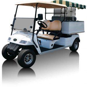 Fairway Café Star Standard - Star EV Beverage Cart Conversion