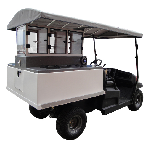 Fairway Cafe Golf Beverage Cart Toro Long Roof