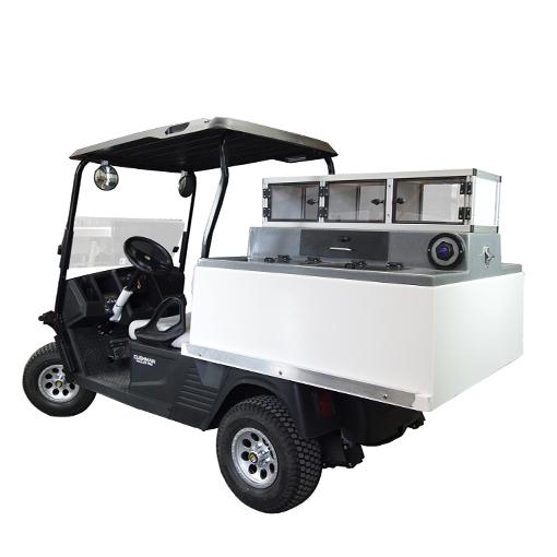 Low Boy Ez Go Hauler Fairway Cafe Golf Beverage Carts