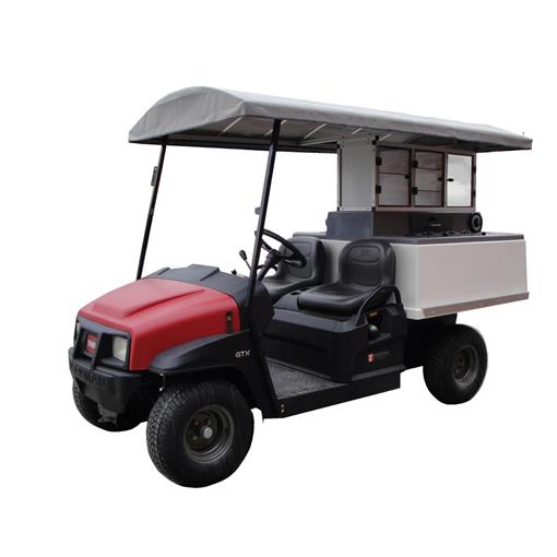 Fairway Cafe Golf Beverage Cart Toro long roof