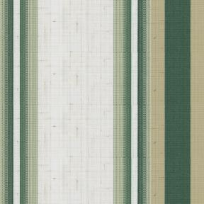 "47"" 634/97 Forest/Beige Slub Stripe"